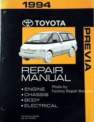 1994 Toyota Previa Repair Manual