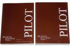 Honda Pilot 2009 2010 Service Manual Volume 1, 2