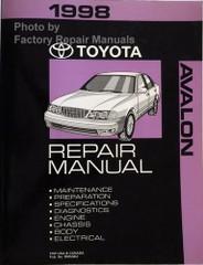 1998 Toyota Avalon Repair Manual