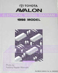 1998 Toyota Avalon Electrical Wiring Diagrams