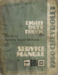 1980 Chevy Light Duty Truck Service Manual