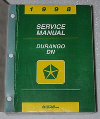 1998 Service Manual Durango DN