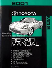 2001 Toyota MR2 Repair Manual