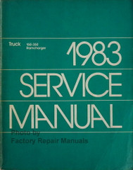 1983 Dodge Truck 150-350 Ramcharger Service Manual
