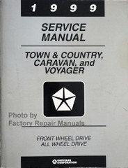 1999 Town & Country, Caravan and Voyager Service Manual