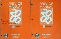 2000 Chevy Lumina Factory Service Manual Set Original Shop Repair