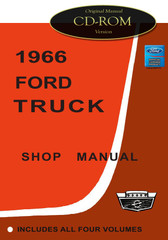 1966 Ford Truck Light Medium Heavy Shop Manual