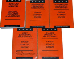 2000 Service Manual Cirrus/Stratus/Breeze