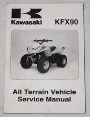 2007 Kawasaki KFX90 KFX 90 Youth Quad Service Manual KSF90-A7F OEM Shop Repair