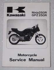 1986 1987 KAWASAKI NINJA 250R GPZ250R Service Manual EX250-E1 EX250E2 OEM Repair