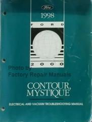 1998 Ford Contour Mercury Mystique Electrical & Vacuum Troubleshooting Manual