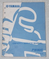 2004 YAMAHA PW80 Y-ZINGER 80 Motorcycle Owners Service Manual PW80S Factory Shop