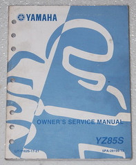 2004 Yamaha YZ85 Original Owners Service Manual YZ85S Shop Repair