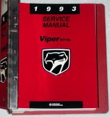 1993 Service Manual Viper RT/10