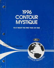 1996 Ford Contour and Mercury Mystique Factory Service Manual