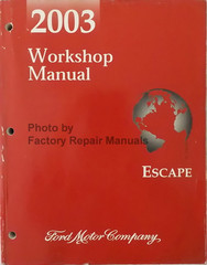 2003 Workshop Manual Escape