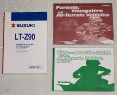 2008 Suzuki LT-Z90 Owners Manual LTZ90K8 Quad Sport Original Factory + Extras 08