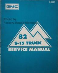 1982 GMC S-15 Truck Service Manual