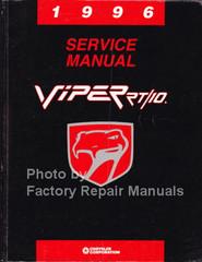 1996 Service Manual Viper RT/10