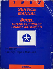 1993 Service Manual Jeep Grand Cherokee / Grand Wagoneer