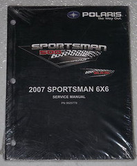 2007 POLARIS SPORTSMAN 500 6X6 ATV Service Manual OEM Shop Repair NEW 9920778