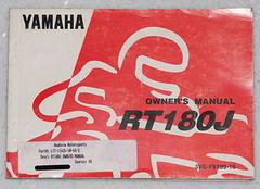 1997 YAMAHA RT180 Owners Manual Original