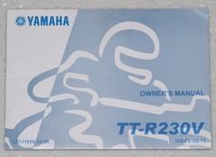 2006 YAMAHA TT-R230 Owners Manual TT-R230V TTR 230 Motorcycle Original Dealer 06