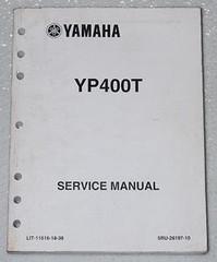 Yamaha YP400T Service Manual