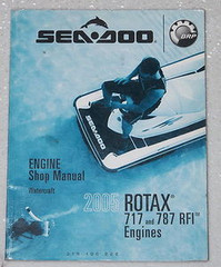 2001 Sea-Doo Explorer Watercraft Shop Manual Supplement Factory Service Repair