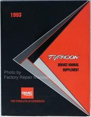 1993 GMC Jimmy Typhoon Service Manual Supplement