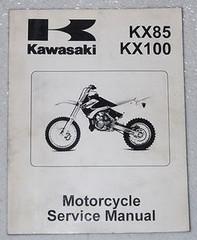 2001 KAWASAKI KX85 A1 B1 KX100 D1 Motorcycle Service Manual KX 85 100 OEM Repair