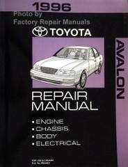 1996 Toyota Avalon Repair Manual