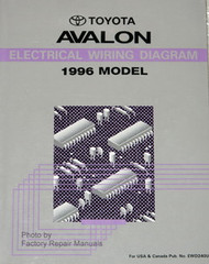 1996 Toyota Avalon Electrical Wiring Diagrams