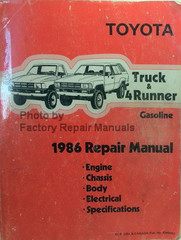 1986 Toyota Truck and 4Runner Electrical Wiring Diagrams ...