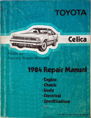 Toyota Celica 1984 Repair Manual