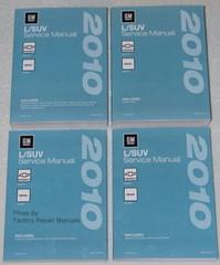 2010 Chevy Equinox GMC Terrain Service Manual Volume 1, 2, 3, 4