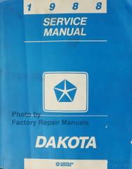 1988 Dodge Dakota Service Manual
