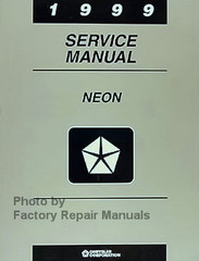 1999 Dodge Plymouth Neon Service Manual