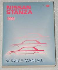 1990 NISSAN PULSAR NX Factory Service Manual Original Dealer Shop Repair Book 90