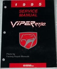 1995 Service Manual Viper RT/10