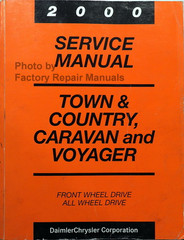 2000 Service Manual Town & Country, Caravan and Voyager