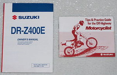 2006 Suzuki DR-Z400E Owners Manual DRZ400K6 DR Z400 E Original Factory Dealer 06