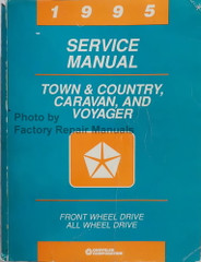 1995 Service Manual Town & Country Caravan and Voyager