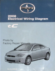 2008 Electrical Wiring Diagrams Scion tC