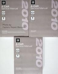 2010 GM A Car Chevrolet Cobalt Pontiac G5 Service Manual Volume 1, 2, 3