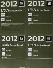 2012 GM L/SUV Service Manual Chevrolet Equinox GMC Terrain Volumes 1 - 4