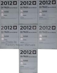 2012 Chevy Silverado GMC Sierra & Denali Trucks Factory Service Manuals
