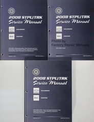 2008 STPU/TRK Service Manual Chevrolet Colorado GMC Canyon Volume 1, 2, 3