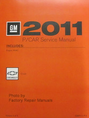 2011 Chevy Cruze Factory Service Manuals
