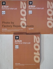 2010 Chevrolet HHR Factory Service Manual Volume 1, 2, 3